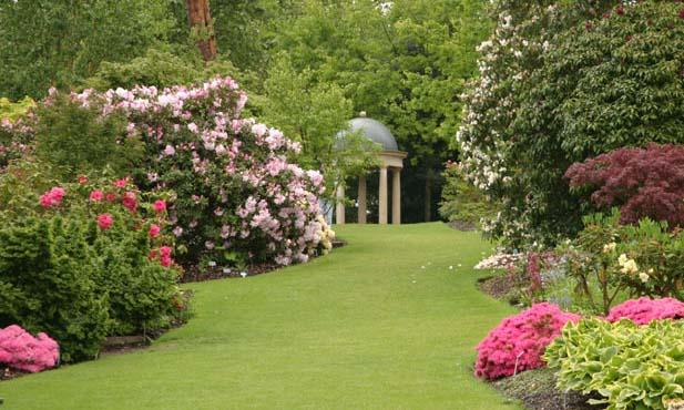 Английский сад и пейзажный стиль