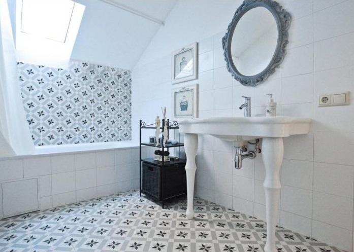 Выбираем напольную плитку для ванной: как не ошибиться