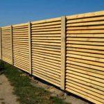 Забор-жалюзи для ограждения садового участка