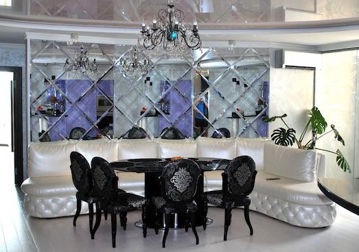 Зеркальная плитка — стильное решение для вашего жилья
