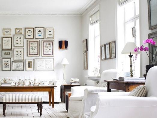 Роскошный белый цвет в нашем интерьере