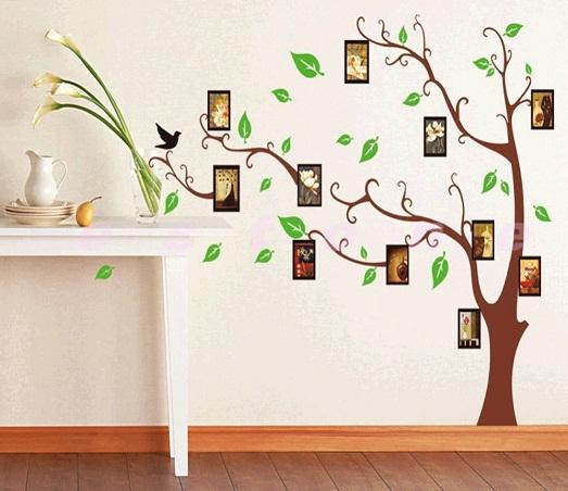 Декорируем стены разными способами