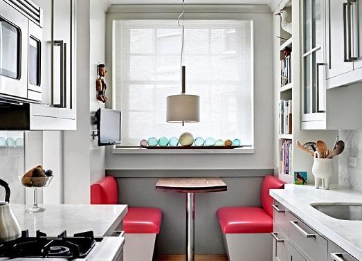 Маленькая кухонная мебель — экономим место