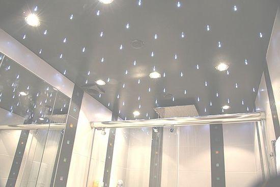 Подвесной потолок в ванной комнате