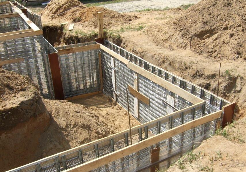 Как соорудить фундамент для дома?