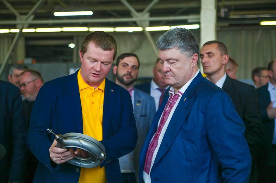 Обсуждение идей нового космоса между президентом Украины и основателем компании Firefly