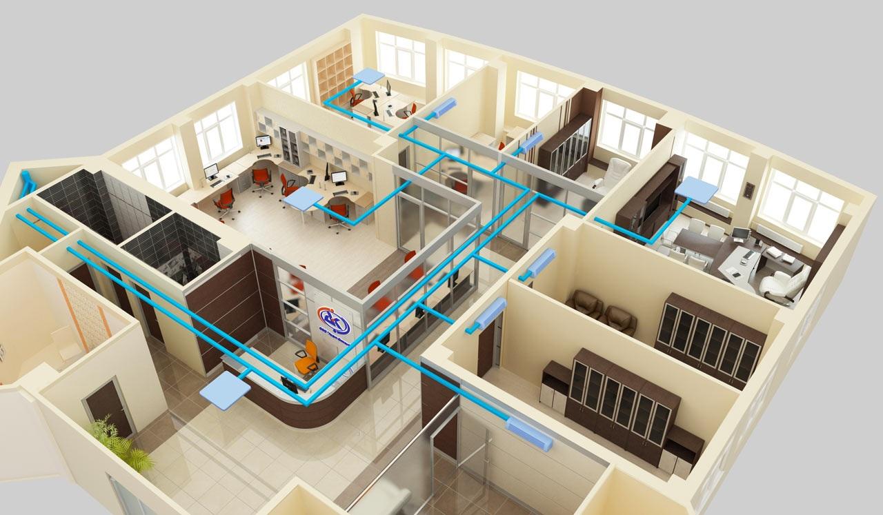 Что такое мультизональные системы, или как охладить сразу несколько комнат в большом доме