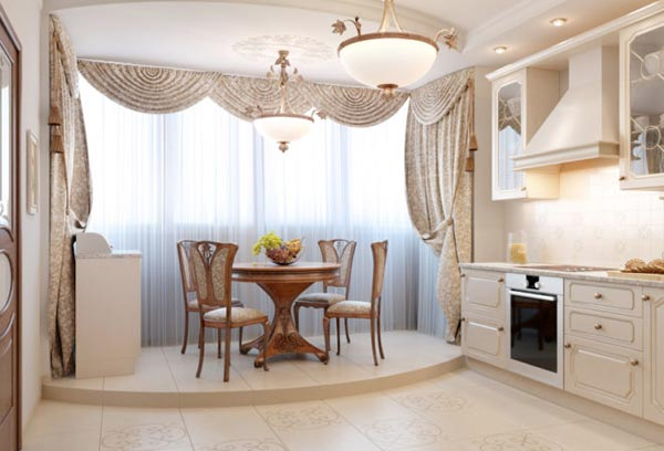 Грамотное расширение пространства: кухня, совмещенная с балконом
