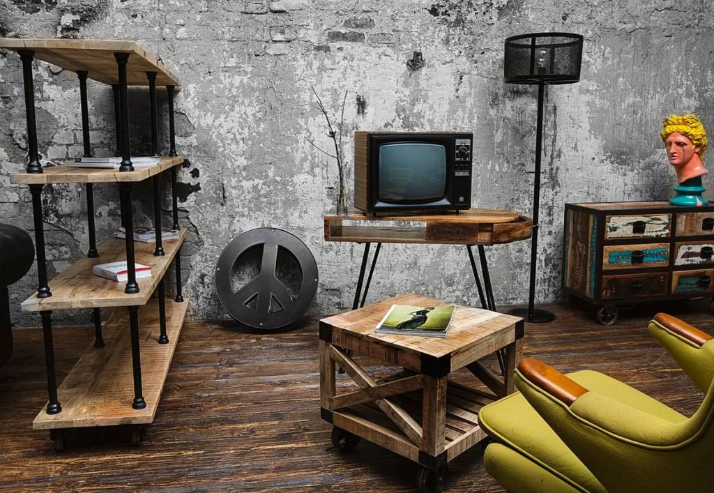 Мебель для лофта: сделать или купить?