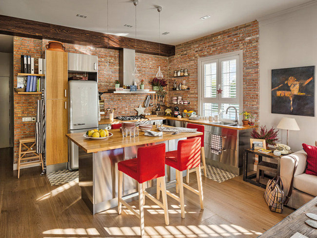 Кухонный остров в дизайне современной кухни