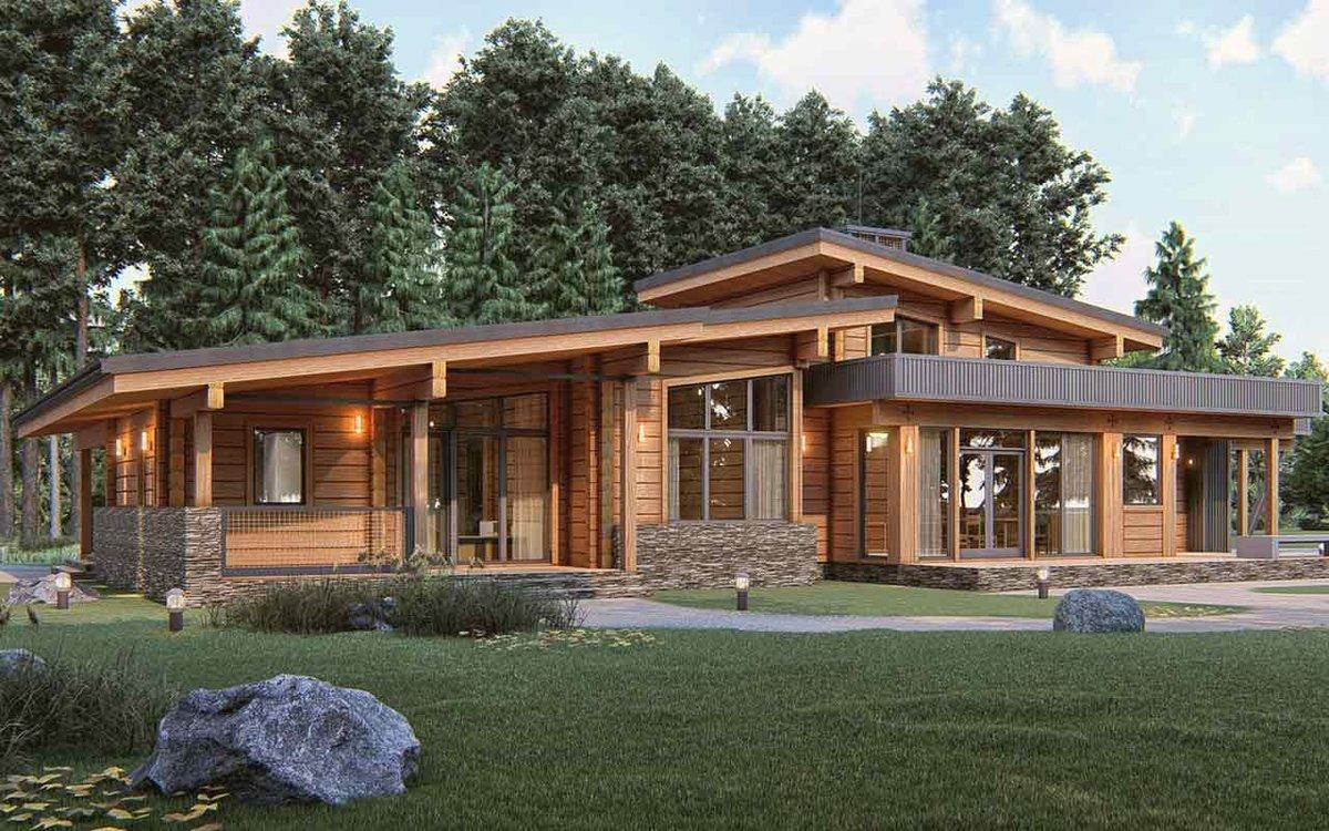 Особенности проектирования домов из клееного бруса