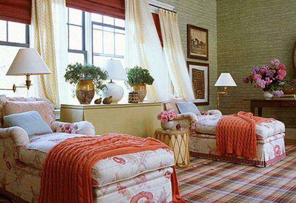 Создаем уютную спальню с раздельными кроватями