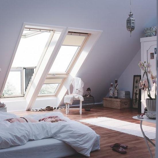 Как по-максимуму использовать мансардные окна в интерьере
