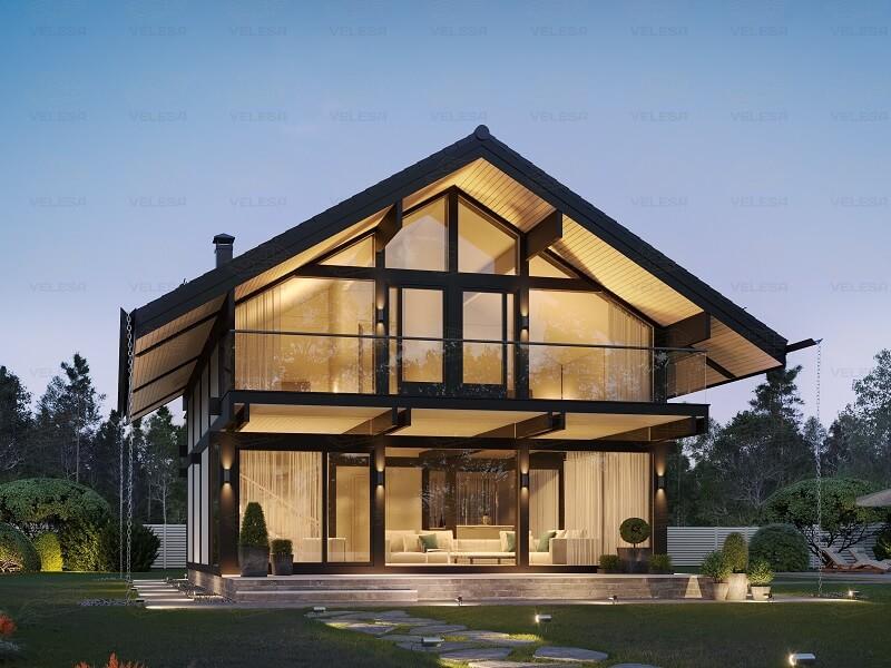 Что такое фахверковый дом: особенности, преимущества и возможности заказ проекта