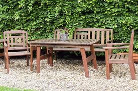Садовая мебель и материалы ее изготовления