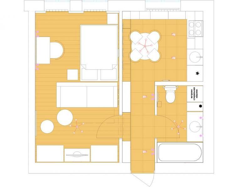 Проекты одноэтажных домов с тремя спальнями