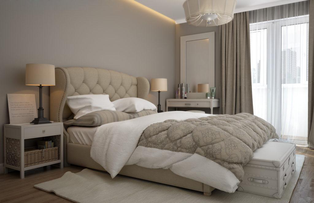 Оформление своей спальни