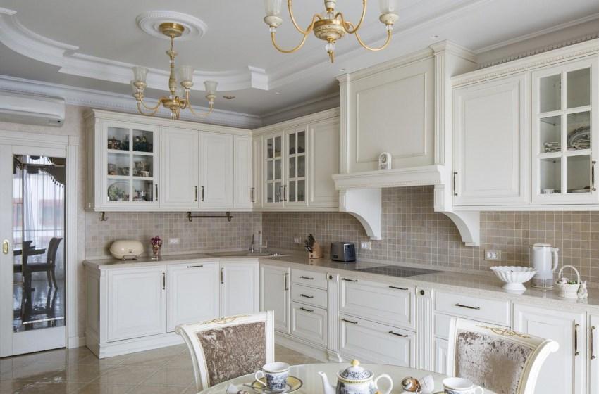 Классические кухни – вечная красота на грани искусства