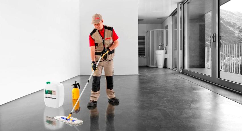 Методы упрочнения и обеспыливания бетонных полов