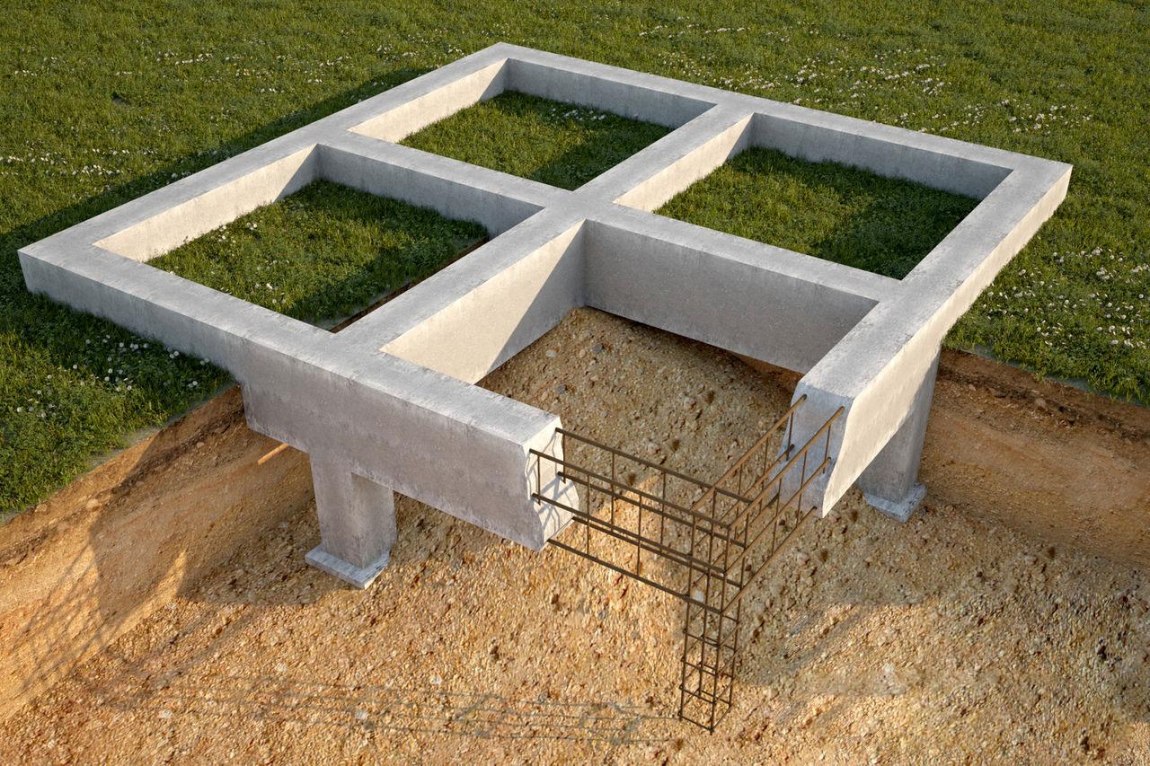 Фундаменты в строительной отрасли