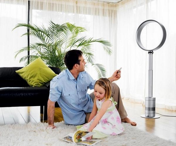Напольный вентилятор: виды устройства и особенности работы