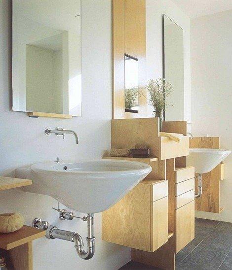 Как организовать места для хранения в ванной комнате