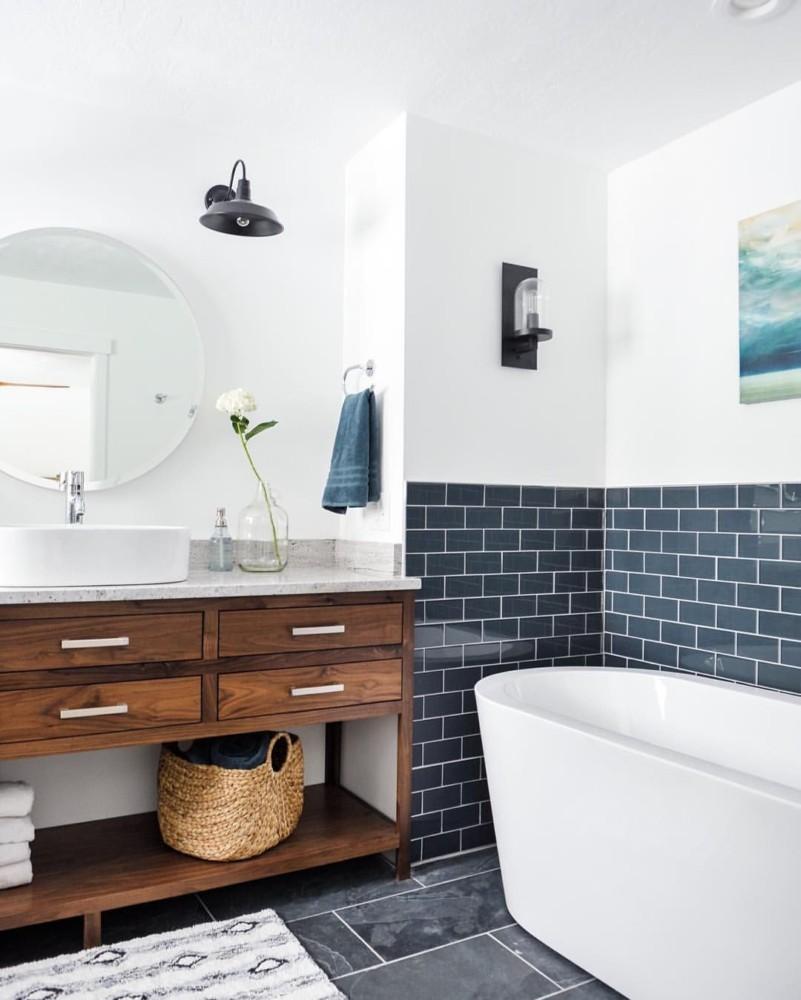 Море в вашей ванной: 6 шагов к созданию ванной комнаты в морском стиле