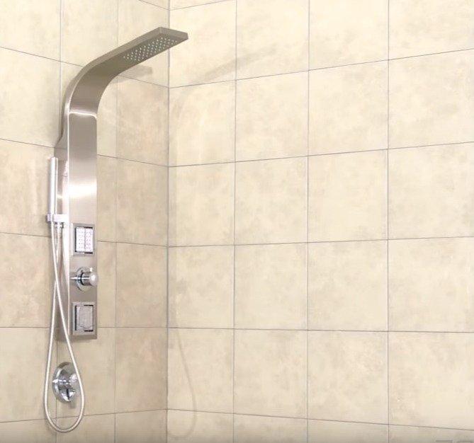 Выбираем душевую стойку для ванной комнаты