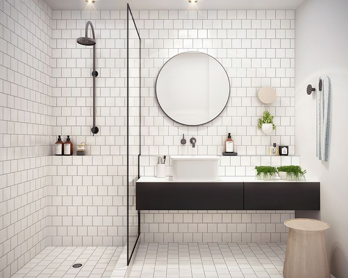 Как выбрать зеркало в ванную, когда нет идей