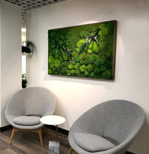 Как выбрать и использовать мох в интерьере квартиры?