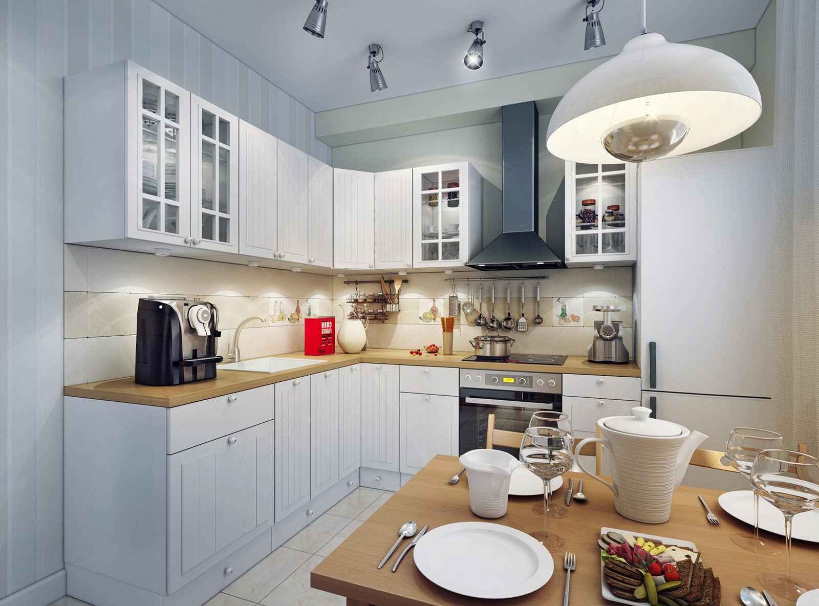 Выбор светильника для кухни
