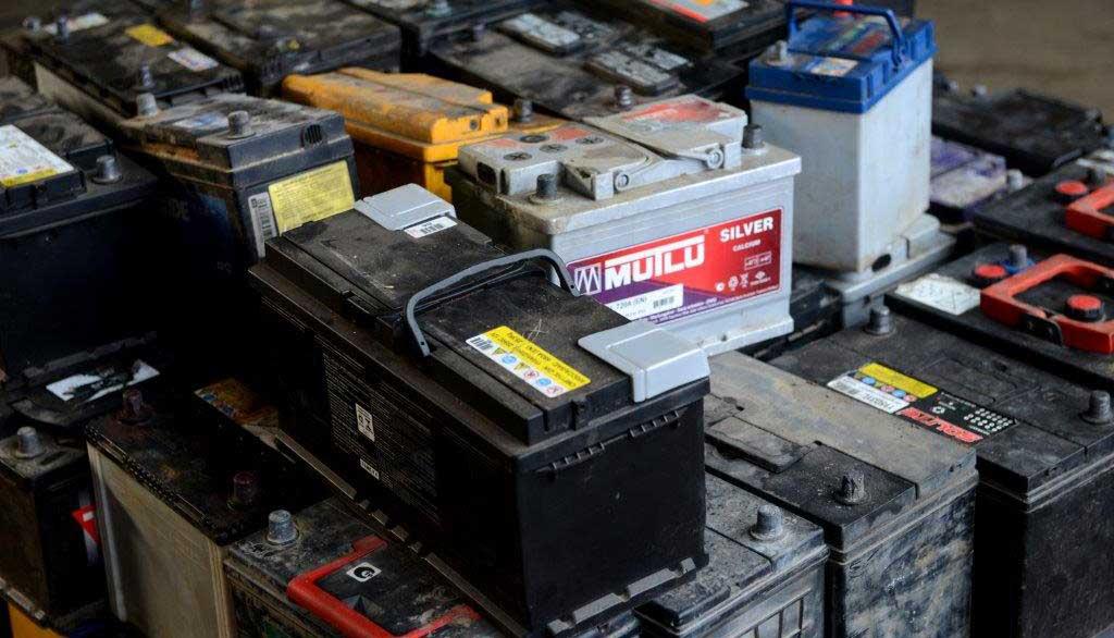О сдаче старого аккумулятора