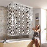 Штора для ванной - как подобрать стильный и практичный вариант?