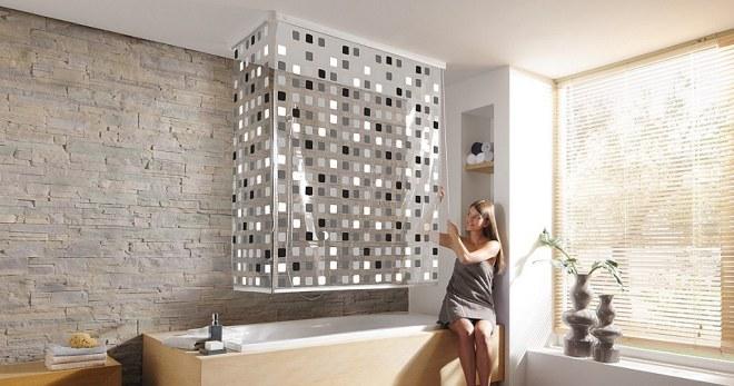 Штора для ванной — как подобрать стильный и практичный вариант?