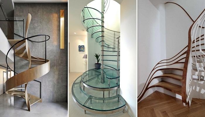 Бесконечные возможности дизайна в изысканных линиях лестниц