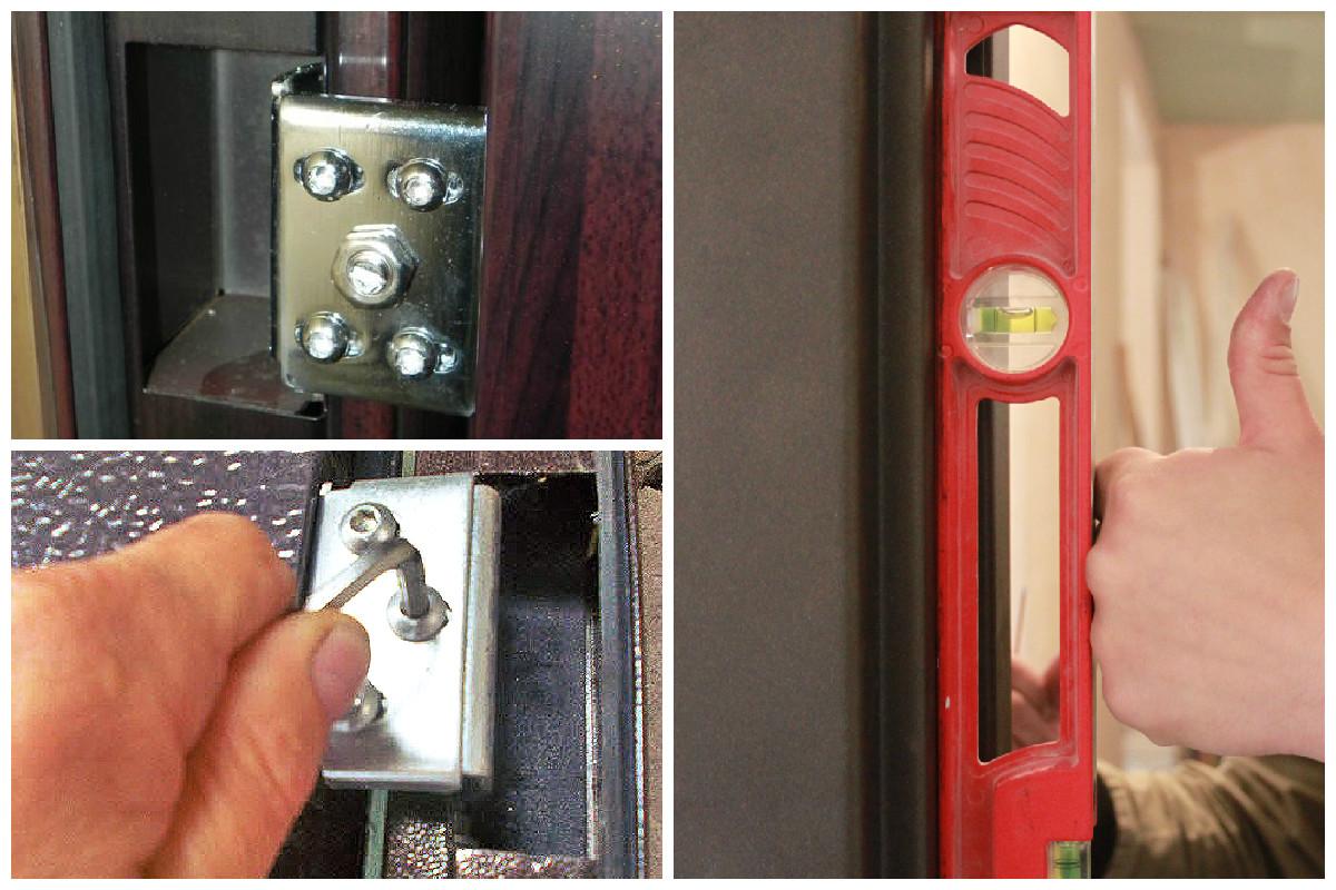 Как отрегулировать входные металлические двери