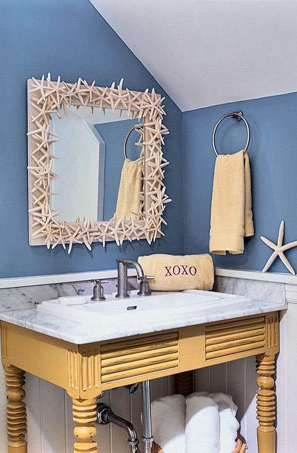 Зеркало в ванной комнате: свежие и модные идеи