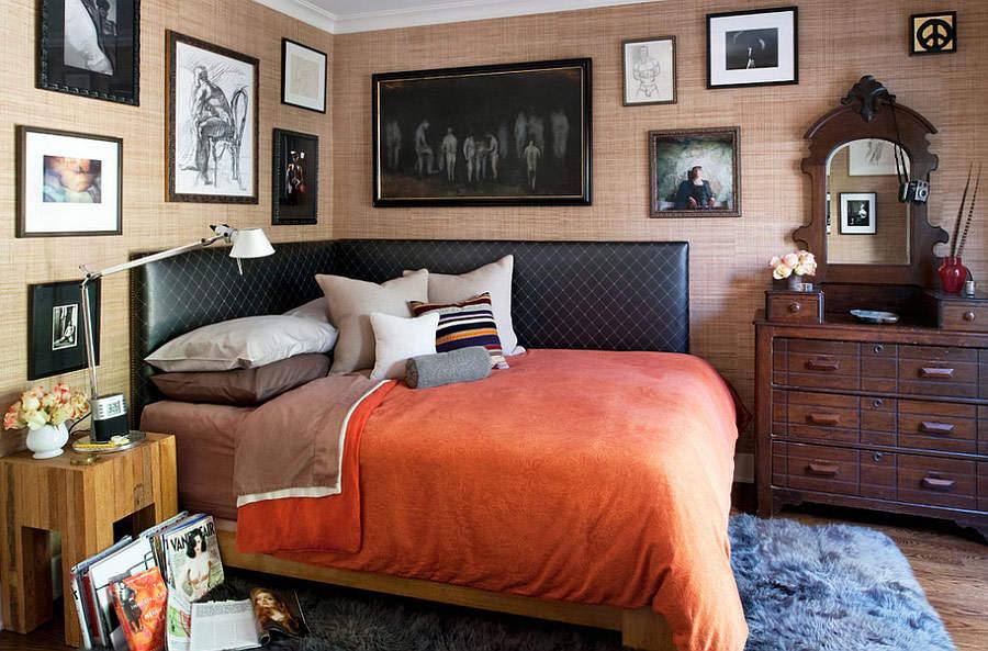 Стиль эклектика в вашей спальне: смело и со вкусом