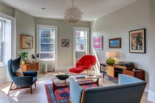 С любовью к ретро: дизайн 60-х в современном доме