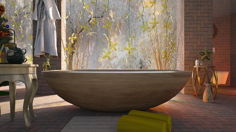 Какой пол сделать в ванной?