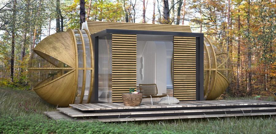 Дача XXI века: модульный дом