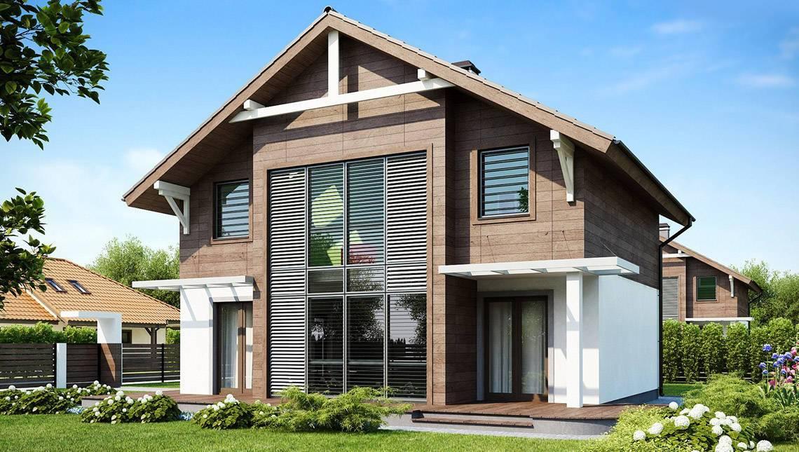 Строим жилой загородный дом