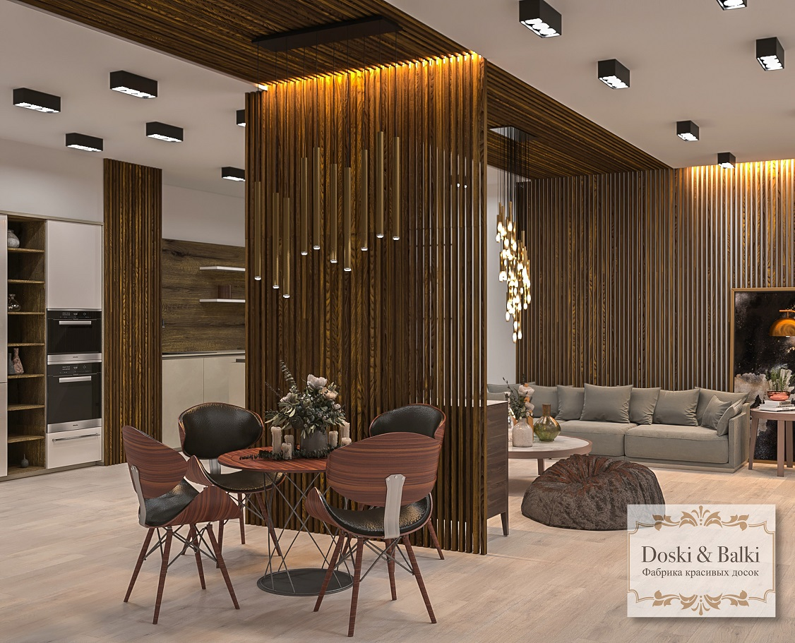 Декорирование дома от компании «Doski&Balki»