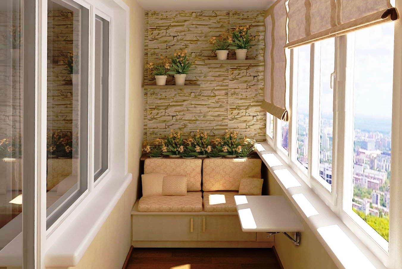 Оригинальные решения в дизайне современных балконов