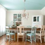 Цветной потолок. 5 идей для нестандартного потолка