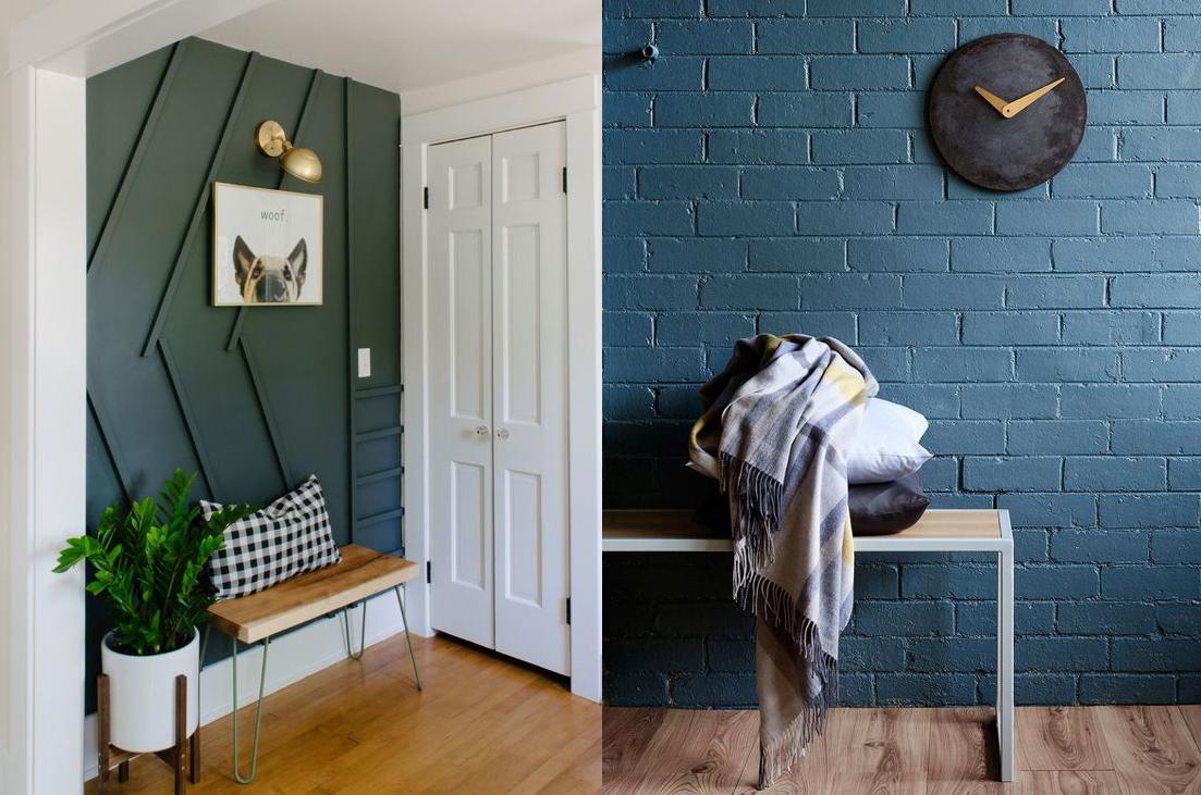 Чем отделать стены в прихожей: 5 практичных вариантов