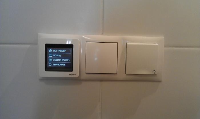 Какой терморегулятор выбрать для теплого пола