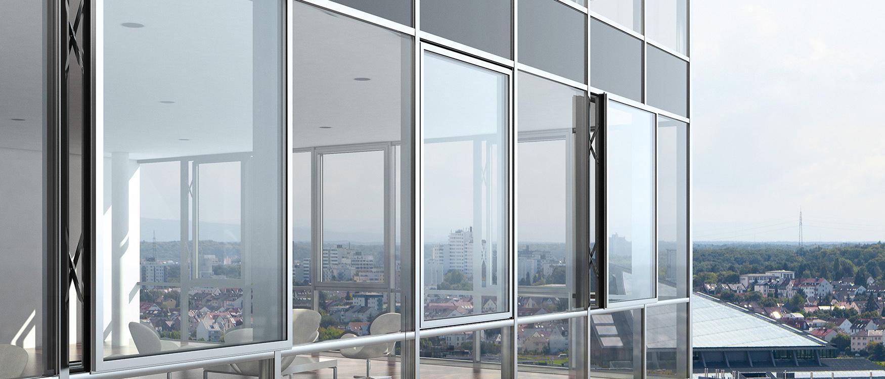 Качественные алюминиевые окна от компании AVS