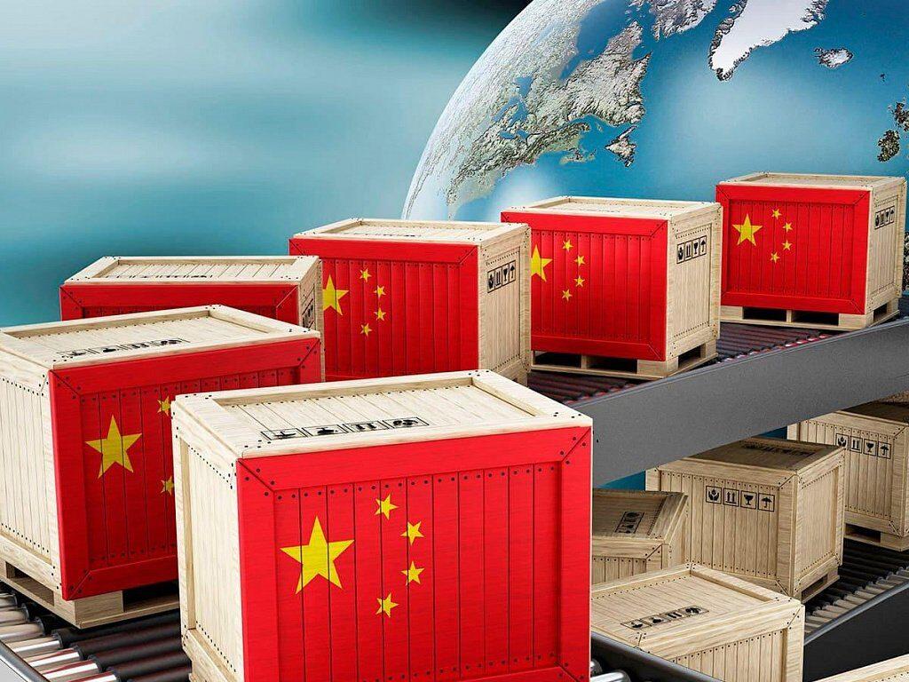 Китайский товар на территории России
