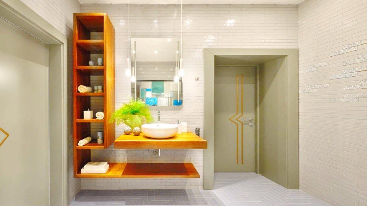 Как сделать практичной ванную комнату?